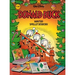 Donald Duck Winterspelletjesboek % 1e druk z.j.