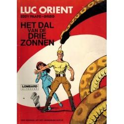 Luc Orient 01% Het dal van de drie zonnen herdruk Lombard