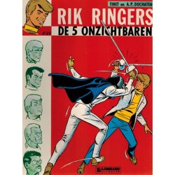 Rik Ringers 10 De 5 onzichtbaren herdruk Lombard