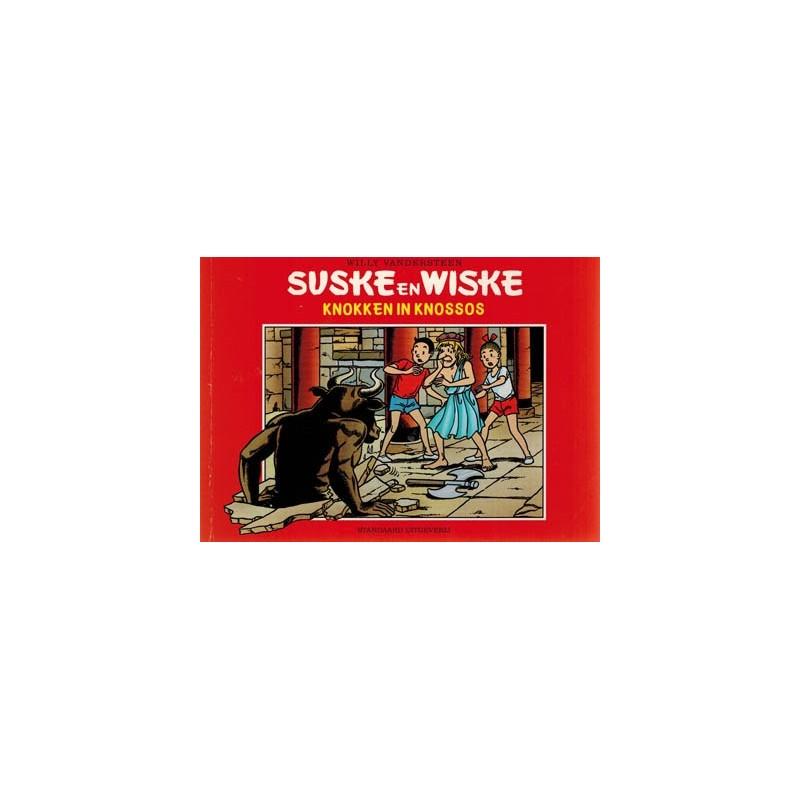 Suske & Wiske reclamealbum Knokken in Knossos 1e druk 2001 (Bruna)