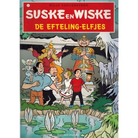 Suske & Wiske reclamealbum A5 De unieke uitgave 05 De Efteling-elfjes 1e druk 2008