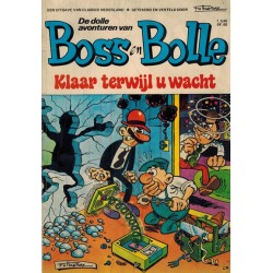 Boss en Bolle 02% Klaar terwijl u wacht 1e druk 1971