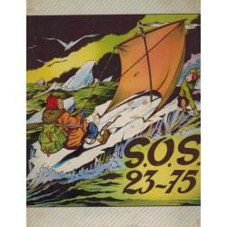 Oscar en Isidoor HC % S.O.S. 23-75 1e druk 1960