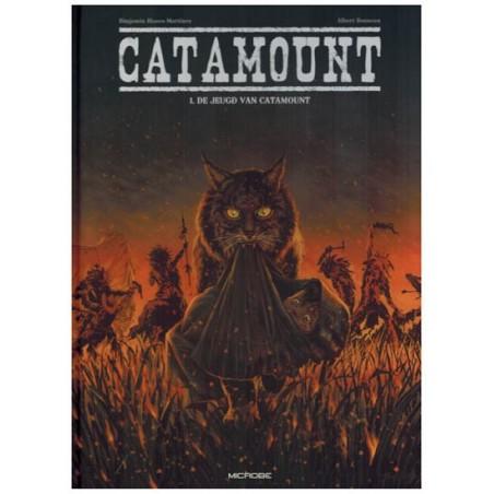 Catamount HC 01 De jeugd van Catamount (naar Albert Bonneau)