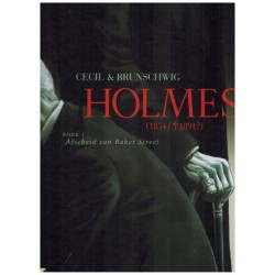 Holmes 1854-1891 HC 01 Afscheid van Baker Street