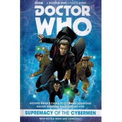 Doctor Who Comics event HC Supremacy of the Cybermen