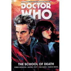 Doctor Who 12th Doctor 04 HC The school of death