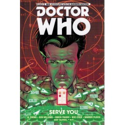 Doctor Who 11th Doctor 02 HC Serve you