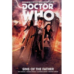Doctor Who 10th Doctor 06 HC Sins of the father