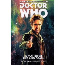 Doctor Who 08th Doctor 01 HC A matter of life and death
