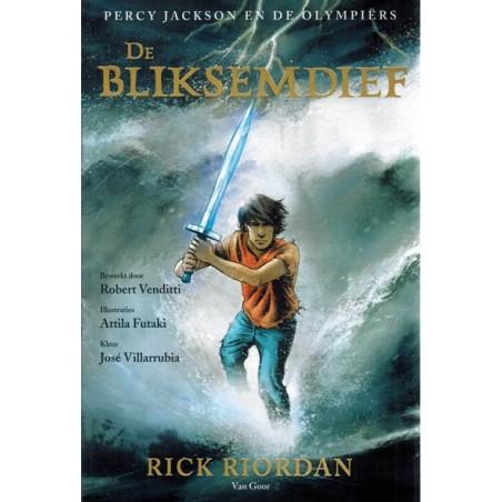 Percy Jackson en de Olympiers 01 De bliksemafleider (naar Rick Riordan)