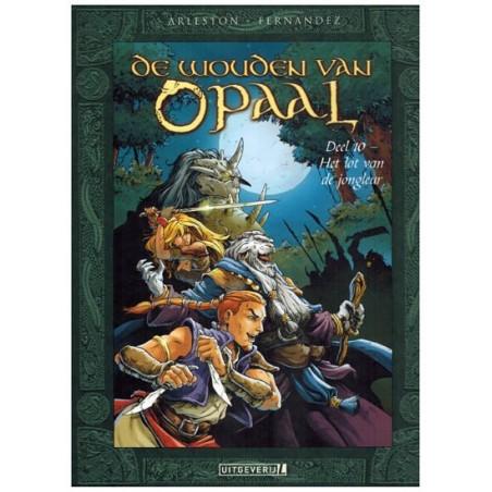 Wouden van Opaal HC 10 Het lot van de jongleur