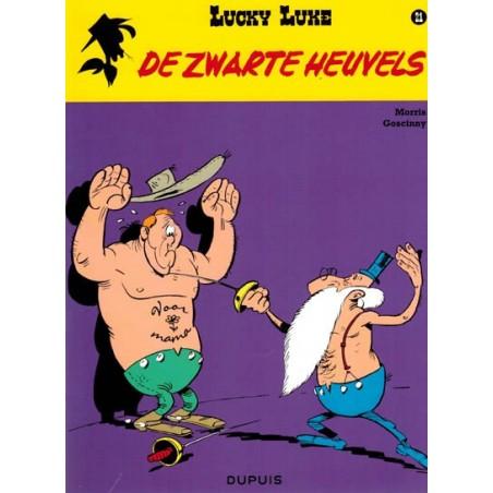 Lucky Luke    21 De zwarte heuvels