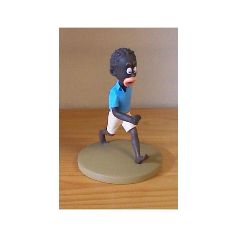 Kuifje  beeldje Coco de kleine Congolees (Afrika pag. 14)