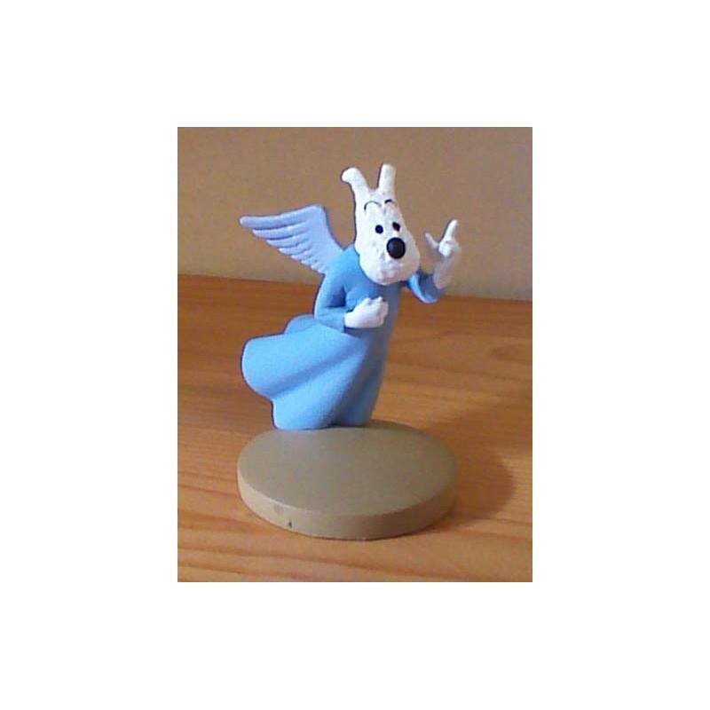 Kuifje  beeldje Bobby als engeltje (Tibet pag. 45)