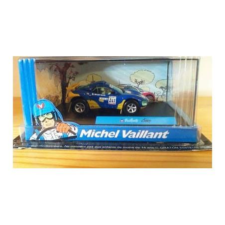 Michel Vaillant autootje Cairo (blauwe nr. 243 + 2 poppetjes in wagen)