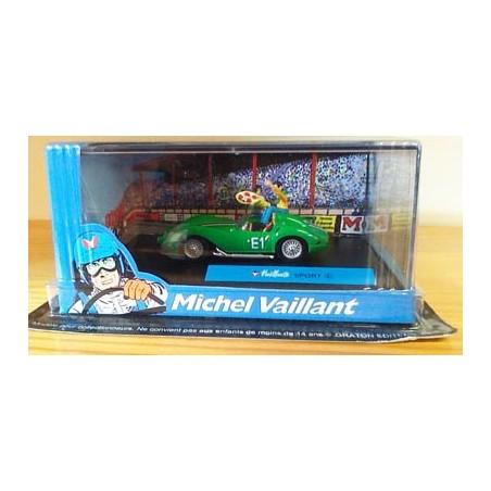 Michel Vaillant autootje Sport (groene nr. E1 + 2 poppetjes)
