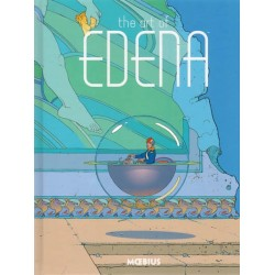 Moebius  artbook HC The art of Edena