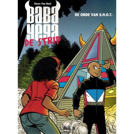 Baba Yega 01 De orde van S.L.O.T (De strip)