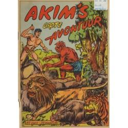 Akim Liliput avonturenverhaal 01 Akim's grote avontuur 1e druk 1954