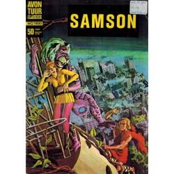 Avontuur classics 030 Samson 05 De giftige damp 1e druk 1967 (1830)