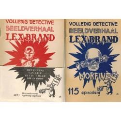 Lex Brand / Tom Wells set S.U.B. Eerste reeks 17 setjes van elk 2 albums, steeds met wikkel per twee 1984-1993