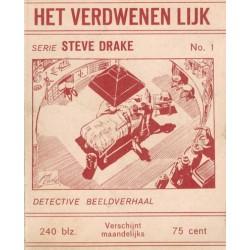 Steve Drake set deel 1 t/m 4 1e drukken 1962