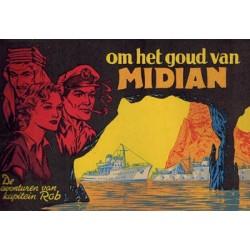 Kapitein Rob 37 Het goud van Midian 1e druk 1955