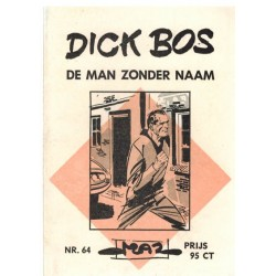 Dick Bos M64 De man zonder naam 1e druk 1966