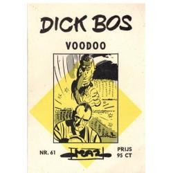 Dick Bos M61 Voodoo 1e druk 1966