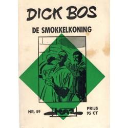 Dick Bos M59 De smokkelkoning 1e druk 1966