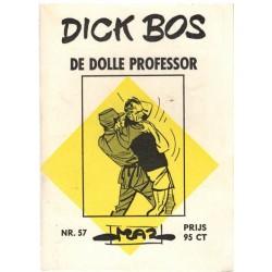Dick Bos M57 De dolle professor 1e druk 1966