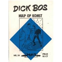Dick Bos M54 Hulp op komst 1e druk 1965