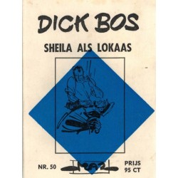 Dick Bos M50 Sheila als lokaas 1e druk 1965
