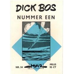 Dick Bos M34 Nummer een herdruk 1964