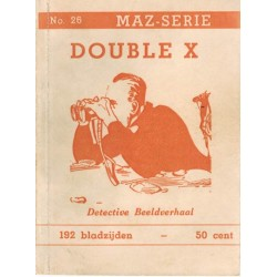 Dick Bos T-II 26 Double X herdruk 1950