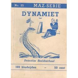 Dick Bos T-II 25 Dynamiet herdruk 1950