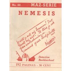 Dick Bos T-II 22 Nemesis herdruk 1950