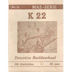 Dick Bos T-II 21 K 22 herdruk 1949