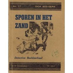 Dick Bos T-I 17 Sporen in het zand herdruk 1947?