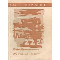Dick Bos T-II 13 Trein 222 herdruk 1948