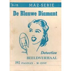 Dick Bos T-II 12 De blauwe diamant herdruk 1948