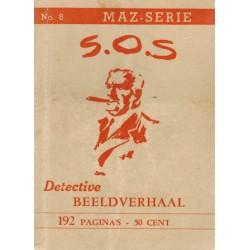 Dick Bos T-II 08 S.O.S. herdruk 1948