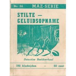 Dick Bos T-II 24 Stilte geluidsopname herdruk 1950