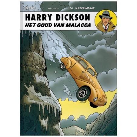 Harry Dickson  13 HC Het goud van Malacca