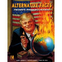 De Heij strips  HC Alternative facts Trumps werkelijkheid