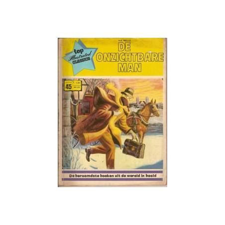 Top Illustrated Classics 45 De onzichtbare man 1973