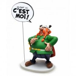 Asterix  beeld Abraracourcix is de baas Le chef ici, c'est moi!