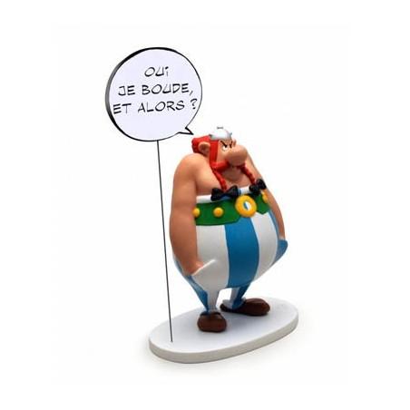 Asterix  beeld Obelix Handen in zakken Oui, je boude et alors?