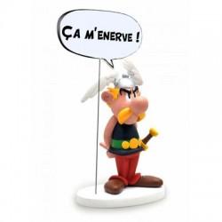 Asterix  beeld Asterix wordt nerveus Ca m'enerve!